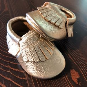 Baby Girl Moccasins 6-12 months
